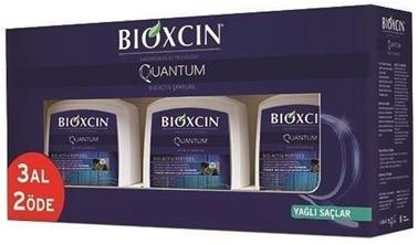 Bioxcin BIOXCIN Quantum Şampuan 300 ml 3 AL 2 ÖDE- Yağlı Saçlar Renksiz